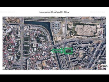 Vanzare teren 530mp Certificat Urbanism P+14 Unirii